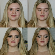 Amy Prom Before & After