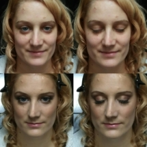 Anna Bridal Trial Before & After