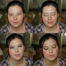 Bridesmaid Trial Before & After