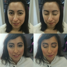 Deanna Bridal Trial Before and After