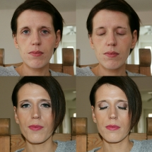 Jo Bridal Trial Before & After