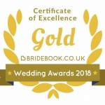 Bridebook Gold Certificate Of Excellence