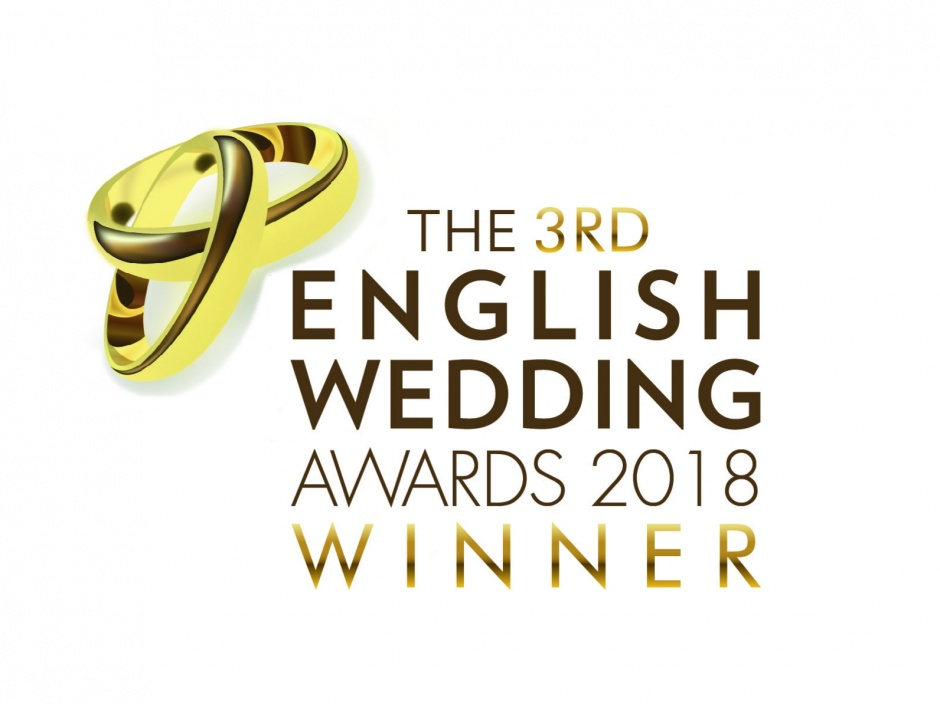 Regional and Overall Winner - The 3rd English Wedding Awards 2018